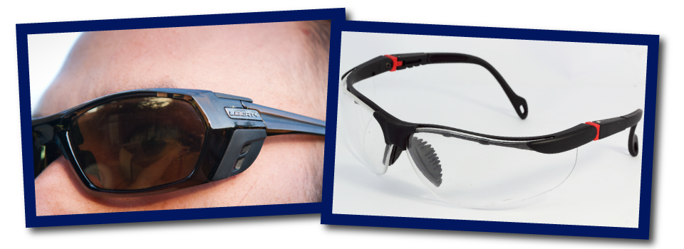 Sport Sunglasses and Safety Glasses